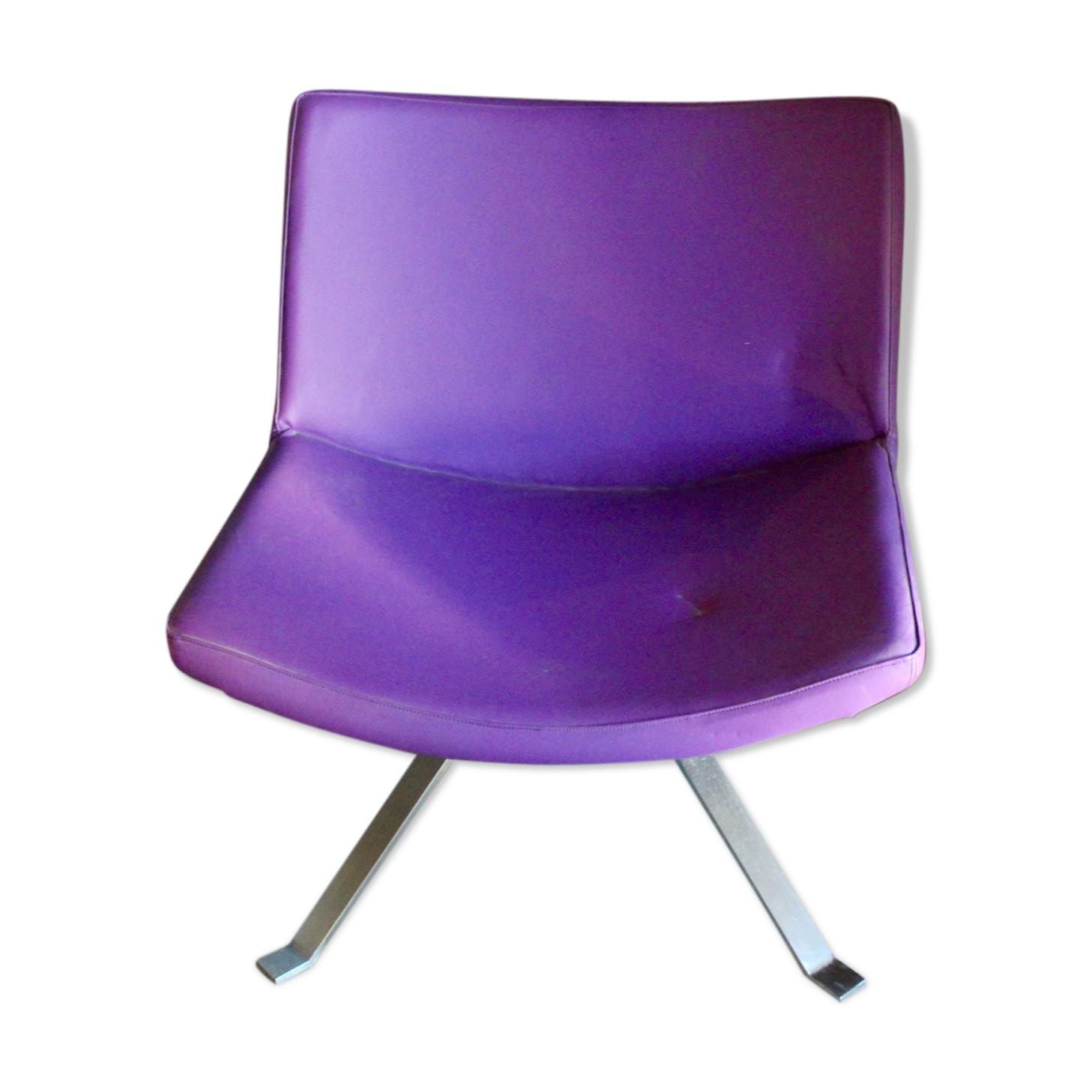Fauteuil Design Kesterport violet