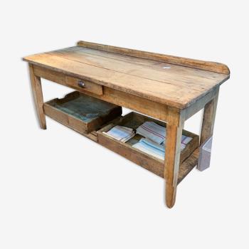 Table de boucher ancienne