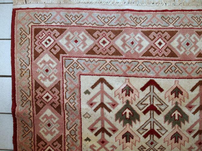 Tapis vintage Turc Sivas fait main 199cm x 274cm 1960
