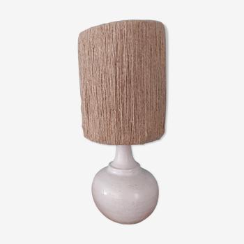 Lampe en ceramique vintage