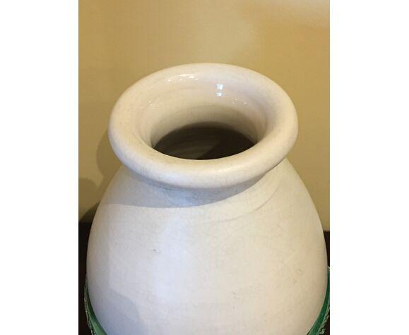 Vase céramique émaillée vintage