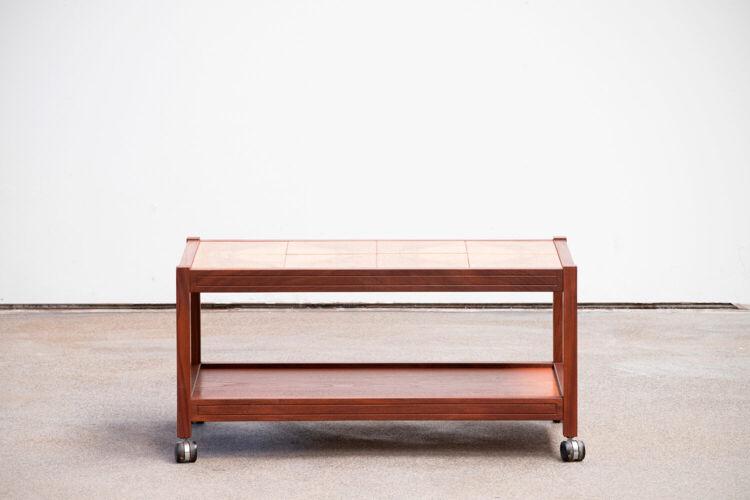 Table basse scandinave vintage 1960