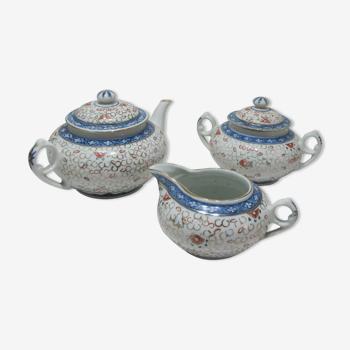 Service à thé en porcelaine Chinois Chine