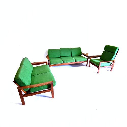 Mid century Danish modern seating group by Arne Wahl Iversen, Denmark 1960s