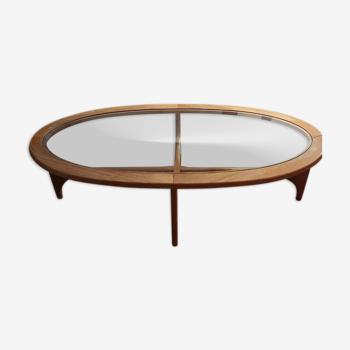 Table basse ovale G-Plan