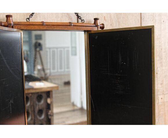 Miroir de barbier tryptique LB Patented 28x33cm