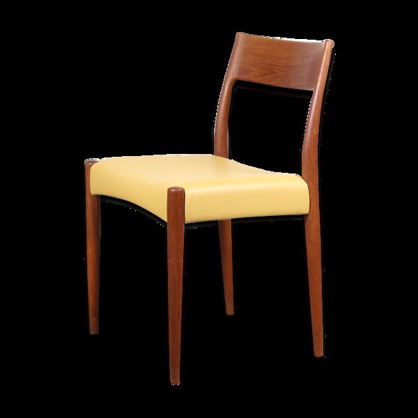 Chaise en teck d'Arne Hovmand Olsen pour Mogens Kold - modèle 175