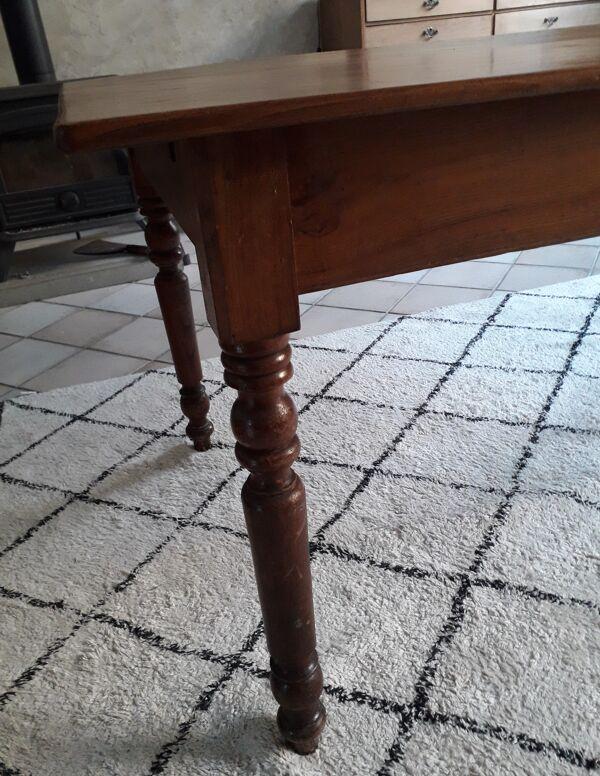 Table ancienne en orme
