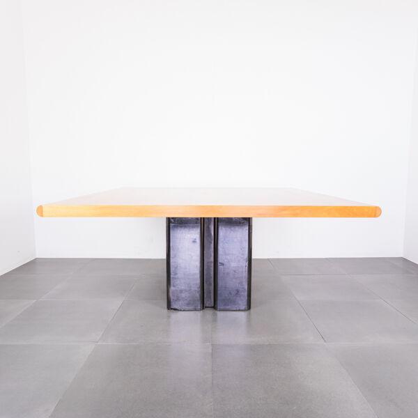 Table de réunion Olivetti Synthesis années 80 vintage