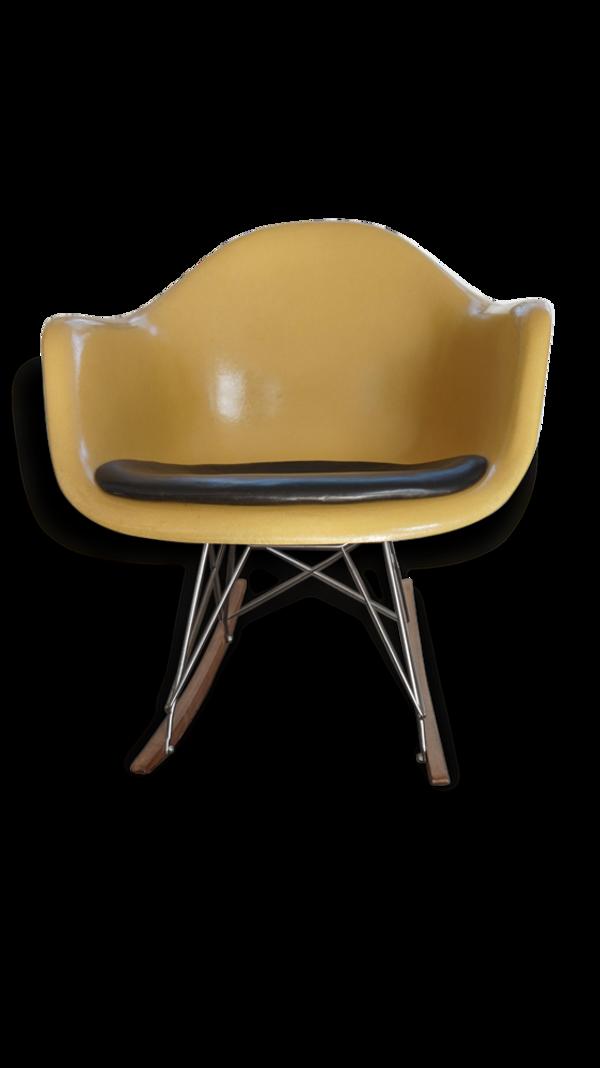 Selency Rocking chair RAR Charles Ray Eames Herman Miller
