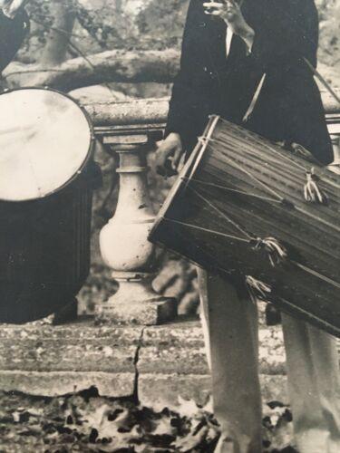 Photo ancienne « les tambours provençaux «