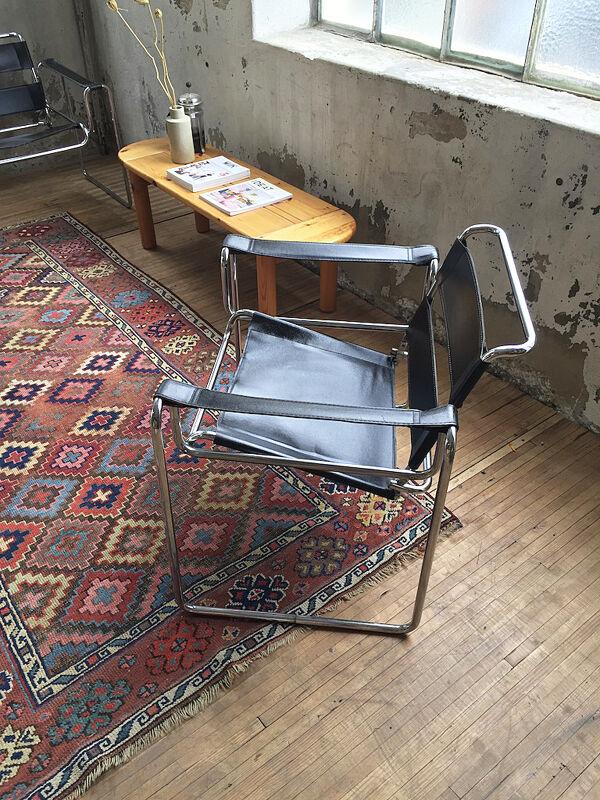 Table basse en pin années 50 Daumiller