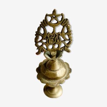 Flacon de khôl en bronze