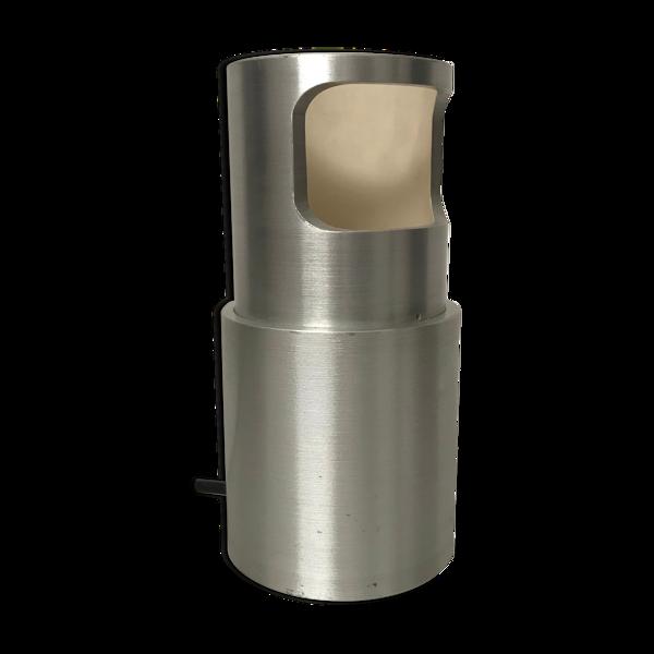 Lampe italienne en aluminium 1970