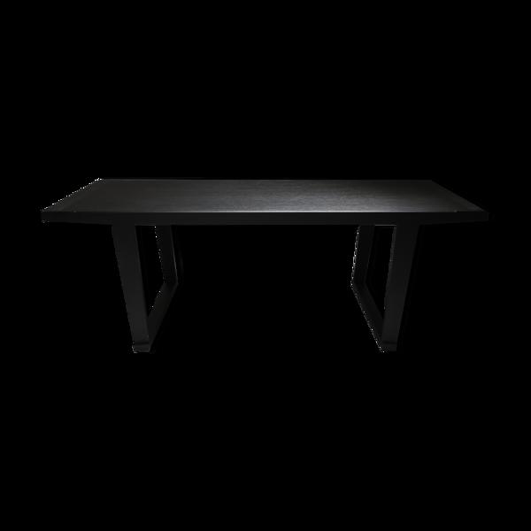Table à manger en chêne noir Citterio 'Lucullo' pour Maxalto - années 2000