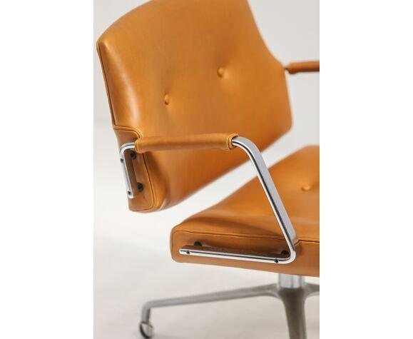 Paire de fauteuils Preben Fabricius et Jorgen Kastholm Fk84