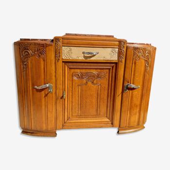 Buffet vintage art déco année 40