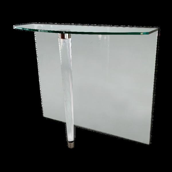Console en verre et Altuglas MC500 Marais International