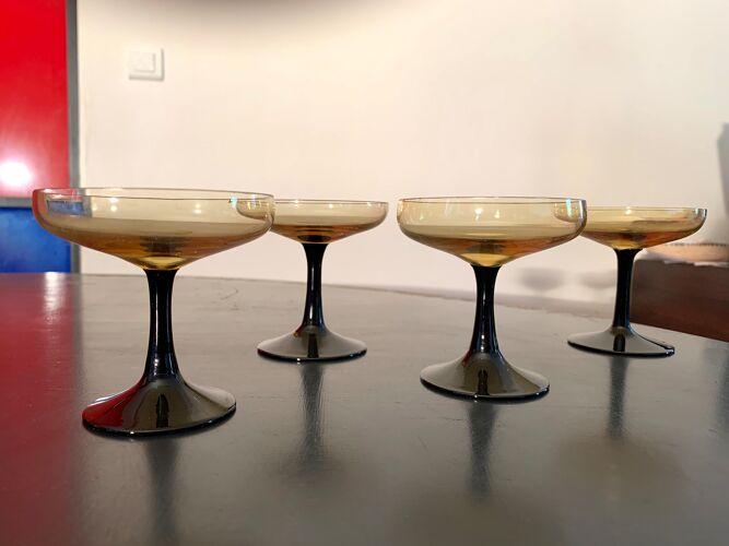 Service à liqueur en verre