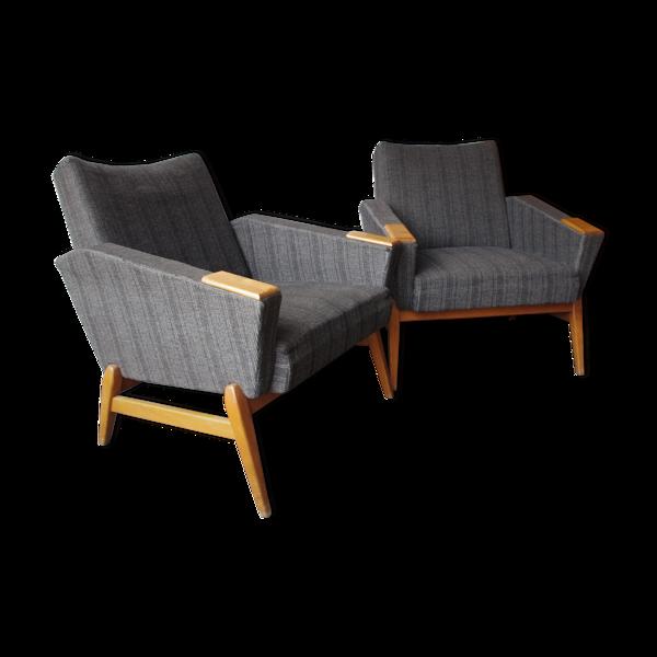 Deux fauteuils des années 1960