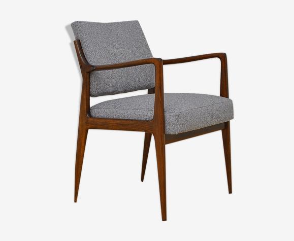 Chaise de bureau scandinave années 1960