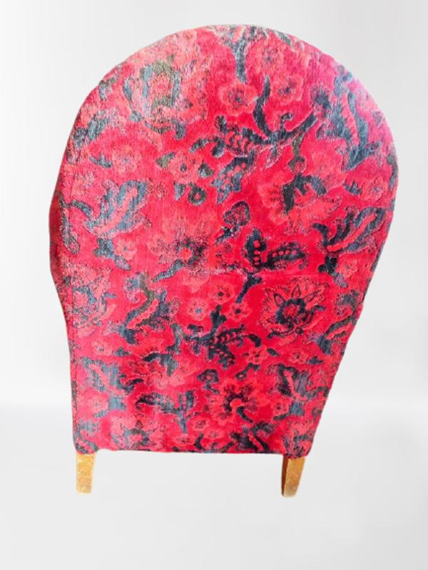 Paire de fauteuils club de salon circa epoque art nouveau