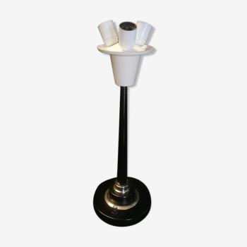 Lampe de salon vintage lum 3 feux variateur 1960's