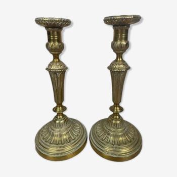 Chandelier en Bronze Antique