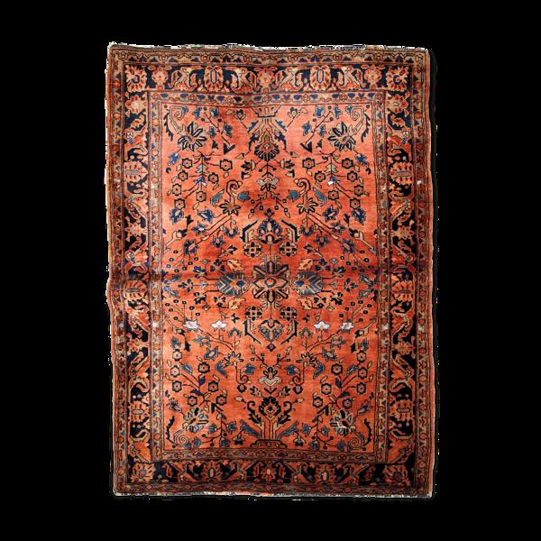 Tapis ancien persan sarouk fait main 97x155cm, 1920