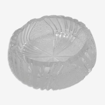 Cendrier cristal de Bohême, Pologne 1980