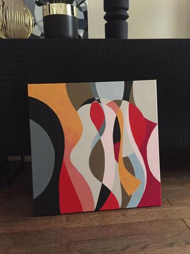 Taleau peinture geometry