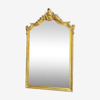 Miroir ancien H 150 x 92 cm époque Napoléon III
