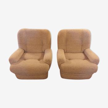 Paires de fauteuils vintage Teddy Bear