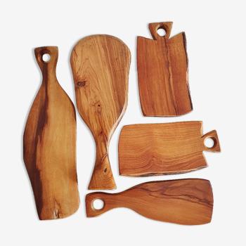 Batch of cutting boards
