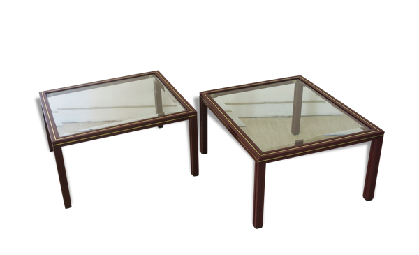 Side Tables by Pierre Vandel, 1970s, Set of 2