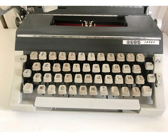 Machine à écrire Japy inter vintage