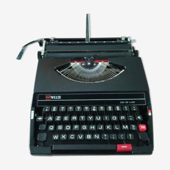 Welco sr 280 matte black typewriter