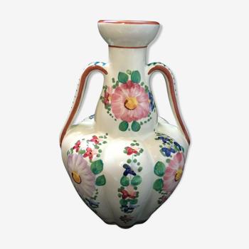 Vase Deruta Italie céramique vintage