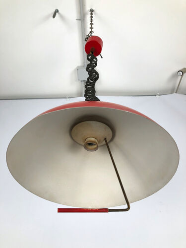 Stilux Milano, Italian labeled chandelier from 50s