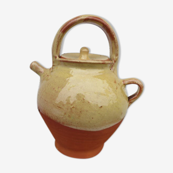 Gargoulette en terracotta vernissée du Sud de la France début XX ème
