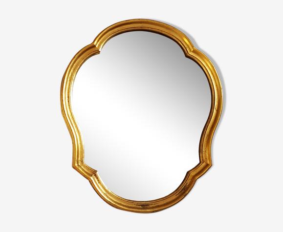 Miroir cadre doré 45x53cm