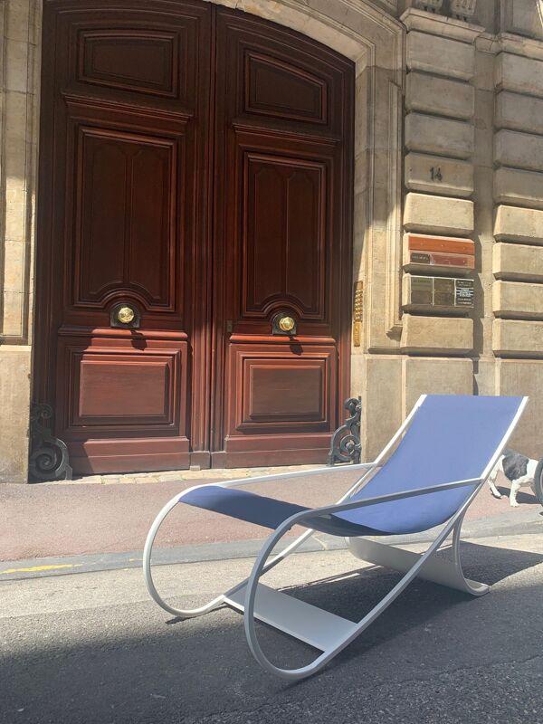 Chaise longue FT33 Francois Turpin