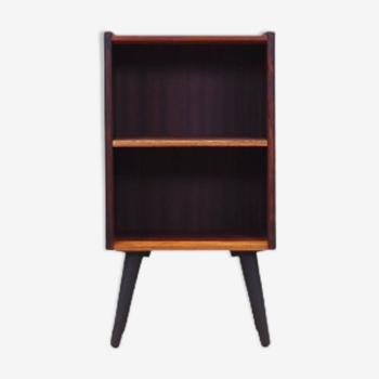 Bibliothèque en palissandre, design danois, années 60, fabriquée au Danemark