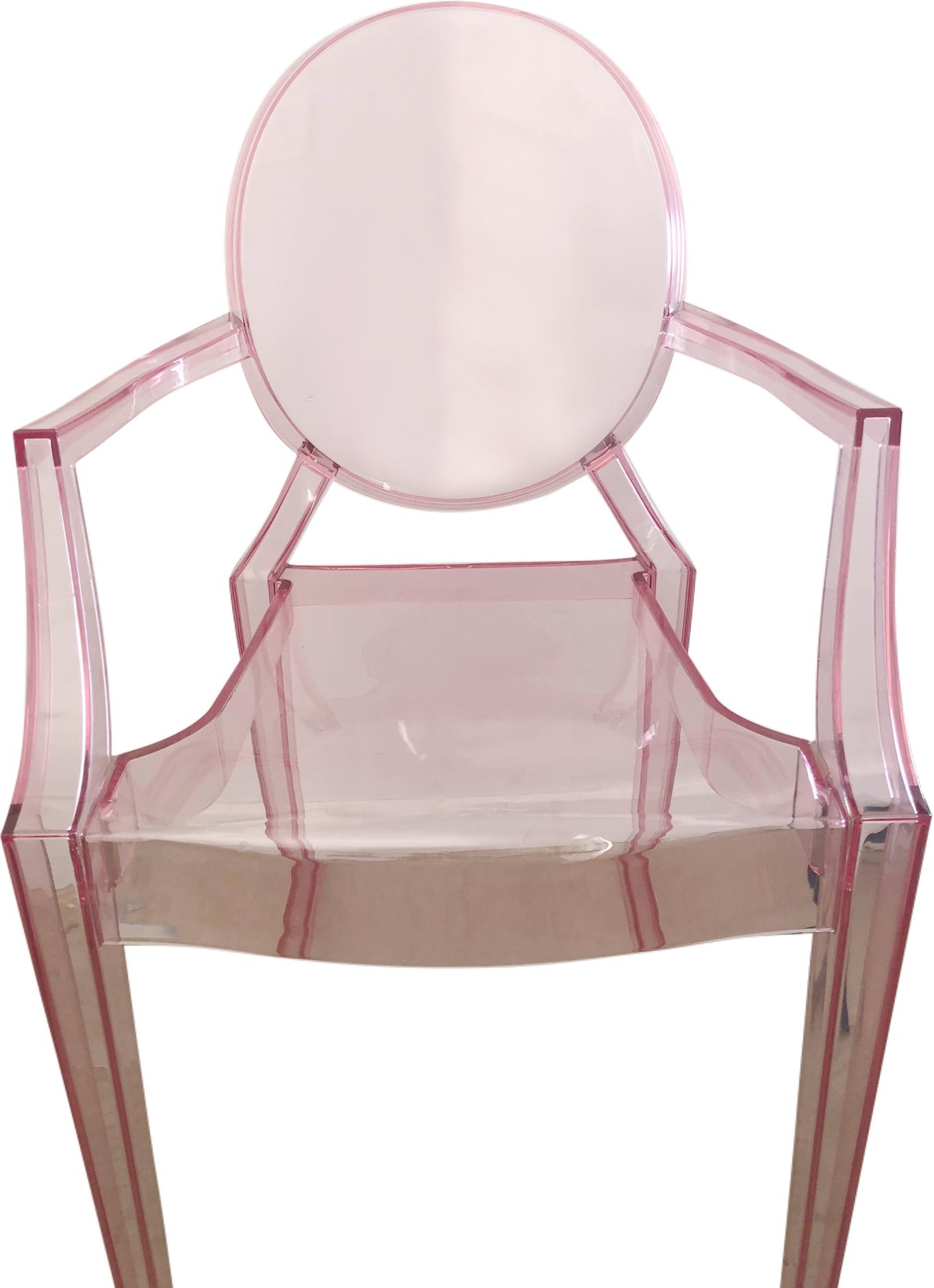Fauteuil enfant Lou Lou Ghost de Philippe Starck édition Kartell