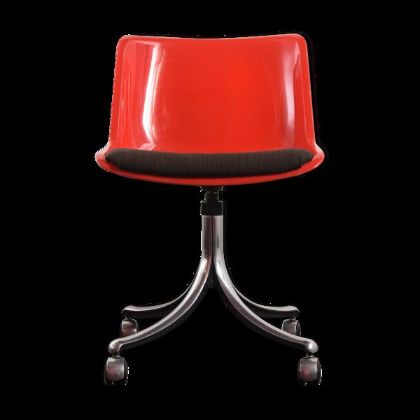 Chaise Modus Swivel conçue par Tecno Centro Progetto en 1972