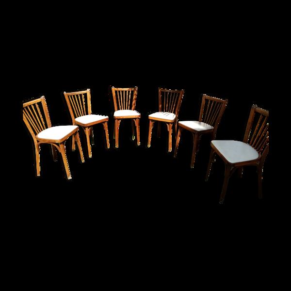 Selency 6 chaises baumann
