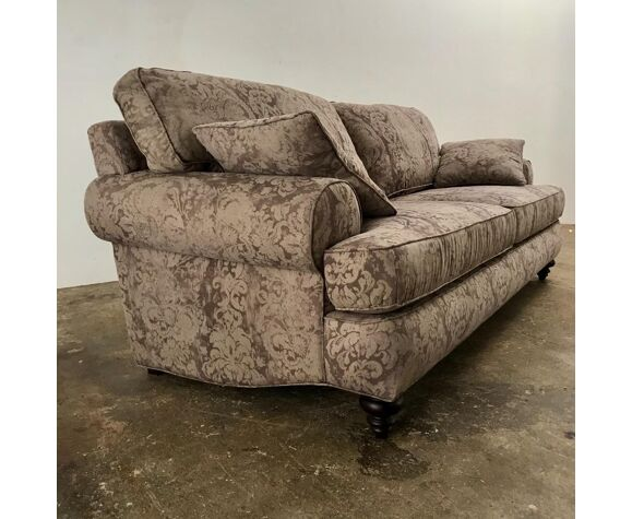 Canapé grand et profond