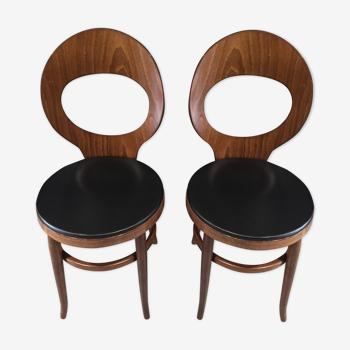 """Duo de chaises Baumann """"Mouette"""""""