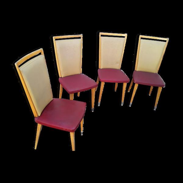 Selency 4 chaises