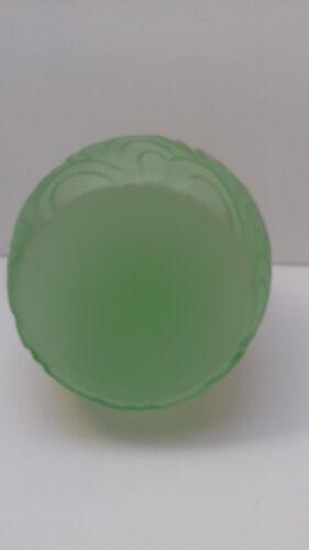 Vase art déco verre préssé moulé